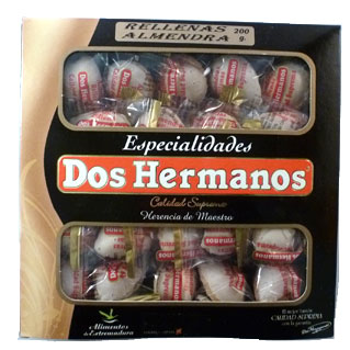 Dos Hermanos Almond Shaped Turron 200g