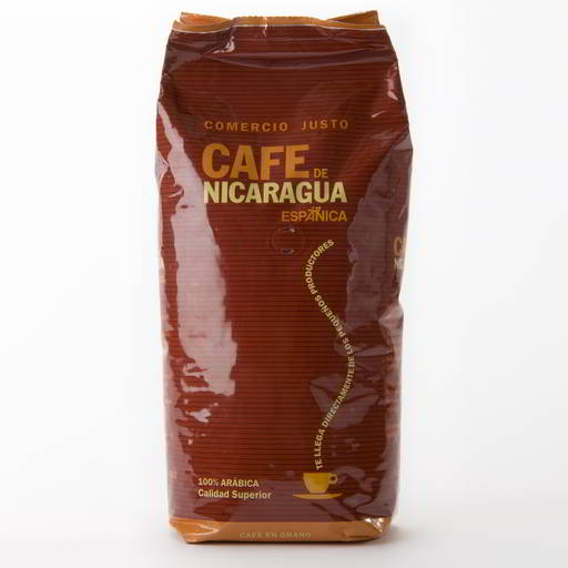 Espanica Fairtrade Coffee Beans 1kg Bag