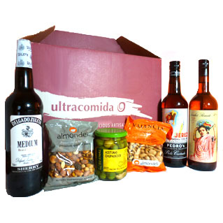 Ultracomida Sherry Hamper