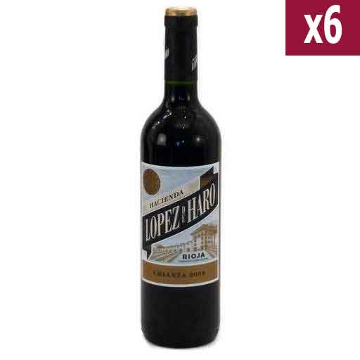 Lopez de Haro Crianza (case of 6)