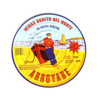 Arroyabe Bonito del Norte (White Tuna) 1kg Tin