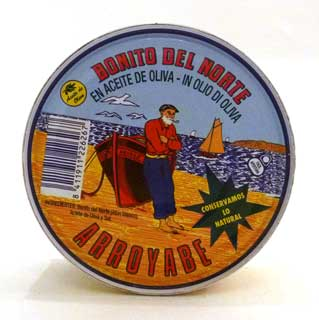 Arroyabe Bonito del Norte (White Tuna) 260g Tin
