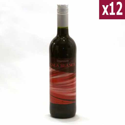 Cala blanca red (case of 12)