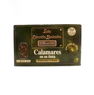 Luis Escuris Calamares en su Tinta (Cuttlefish in Ink) 125g