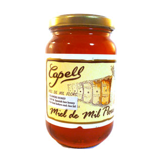 Capell Honey Mil Flores (Wildflower) 500g