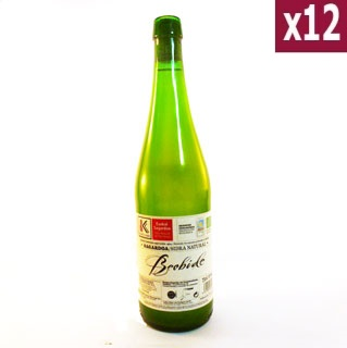 Sagardoa Natural Basque Cider 75cl (case of 12)