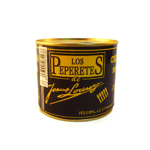 Los Peperetes Chiperones en su Tinta (Baby Squid in Ink) 650g
