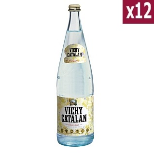Vichy Catalan Sparkling Water 1L (case of 12)