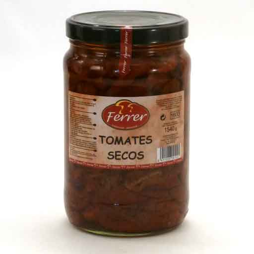 Sun-dried Tomatoes in Oil 1.54 kg
