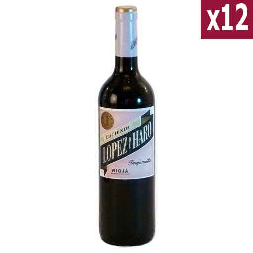 Lopez de Haro Rioja (case of 12)