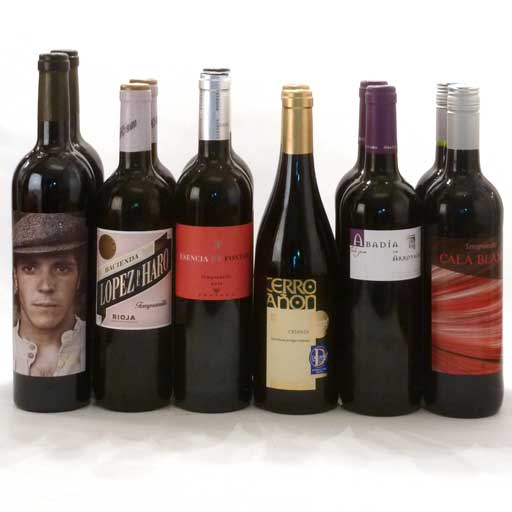Mixed Red Wine Selection (case of 12)