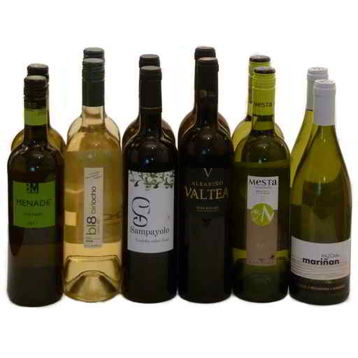 Mixed White Wine Selection 2 (case of 12)