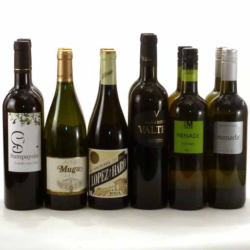 Mixed White Wine Selection 3 (case of 12)