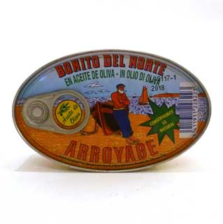 Arroyabe Bonito del Norte (White Tuna) 111g Tin