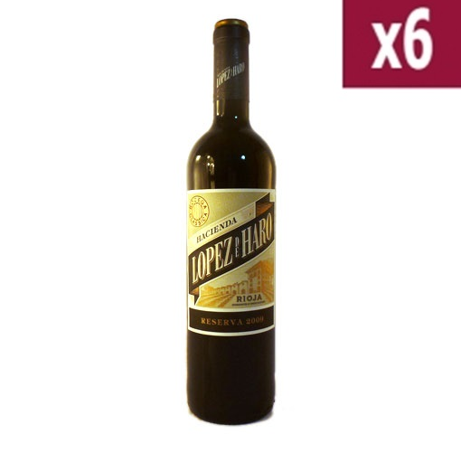 Lopez de Haro Reserva (case of 6)
