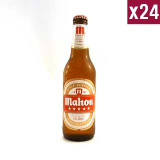 Mahou Cinco Estrellas 33cl (case of 24)