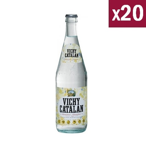 Vichy Catalan Sparkling Water 50cl (case of 20)